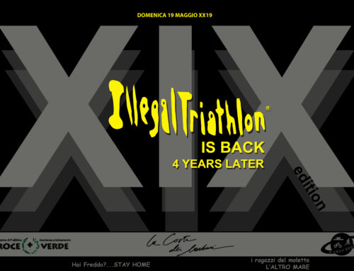 XIX ILLEGALTRIATHLON 19 Maggio XX19 back to the original