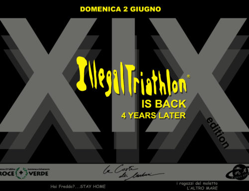 XIX ILLEGALTRIATHLON 2 Giugno XX19 back to the original