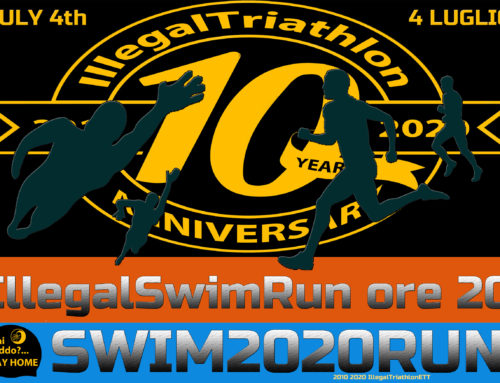 TRAINING ILLEGAL SWIM&RUN  #ILLEGALTRI 10 YEARS ANNIVERSARY